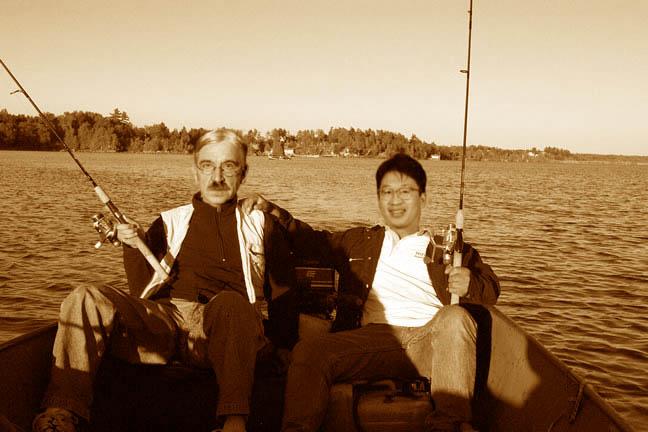 David Wong goes fishing with John Dewey