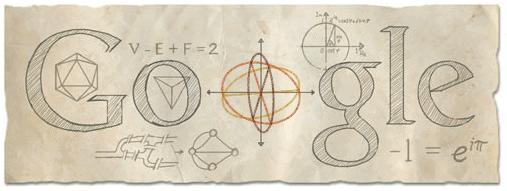 google-euler-doodle
