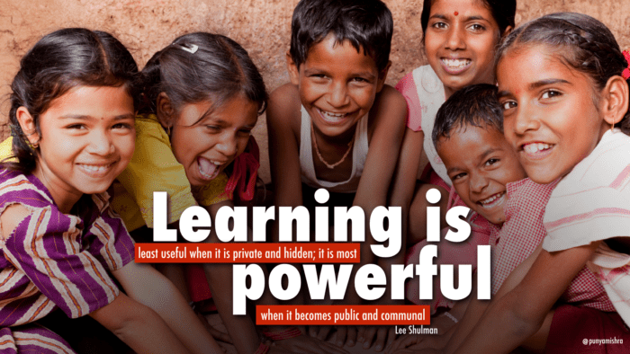 Learning is Powerful: Quote