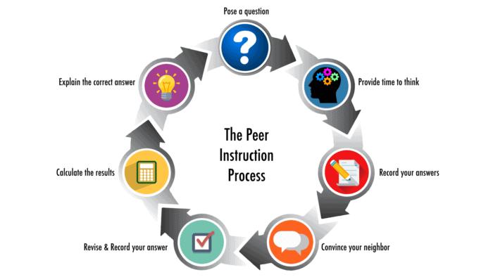 Peer instruction process