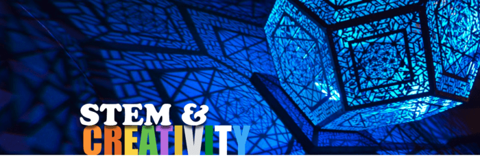 STEM & Creativity Banner Image