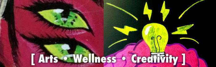 Arts Wellness Creativity: Banner image