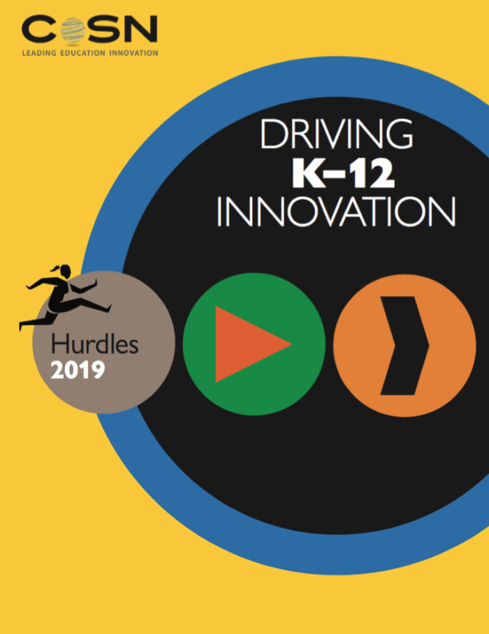 Driving K12 Innovation: Report cover