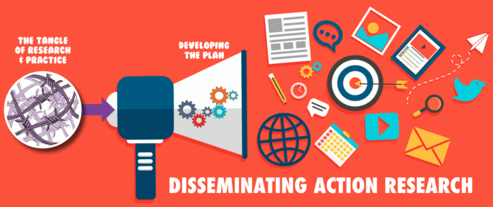 Disseminating Action Research Banner image