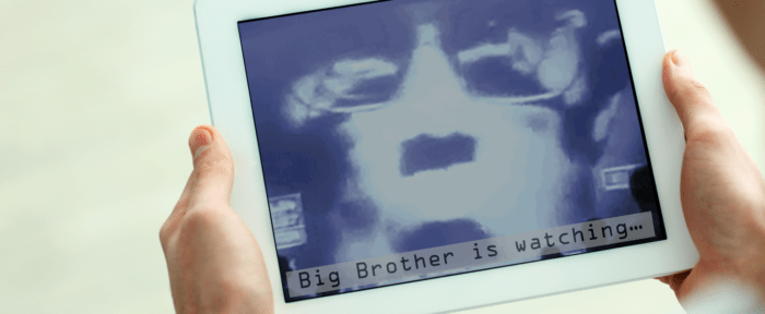 Big Brother is watching - banner image