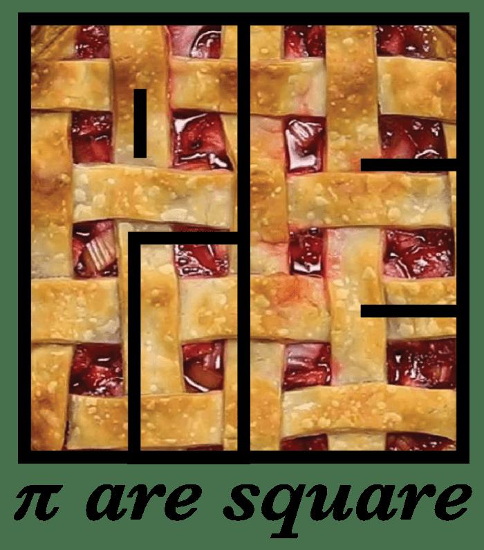 Pi are square design by Punya Mishra