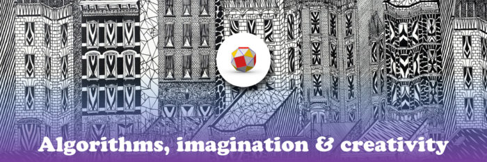 Algorithms, imagination & Creativity: Banner image