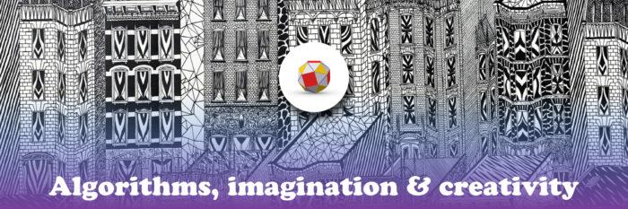 Algorithms, imagination & Creativity: Banner image