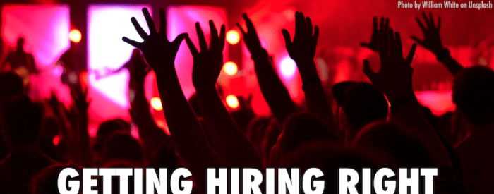 Getting hiring right... banner image