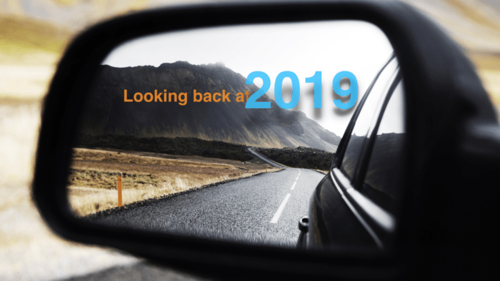 Banner image: Looking back at 2019